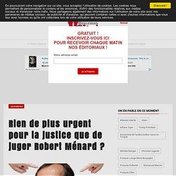 Rien de plus urgent pour la justice que de juger Robert Ménard ?