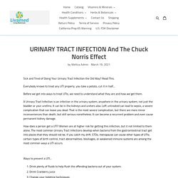 URINARY TRACT INFECTION And The Chuck Norris Effect