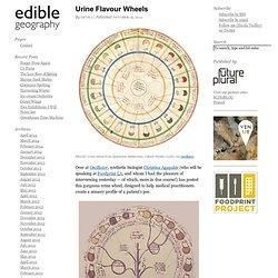 Urine Flavour Wheels