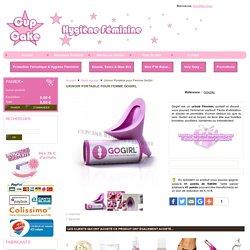 GoGirl urinoir Féminine Achat / Vente Urinoir Portatif - Cupcake Hygiène Féminine