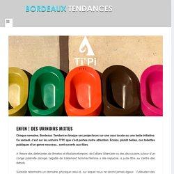 Enfin ! Des urinoirs mixtes - Bordeaux Tendances