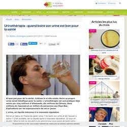Urinothérapie : quand boire son urine est bon pour la santé