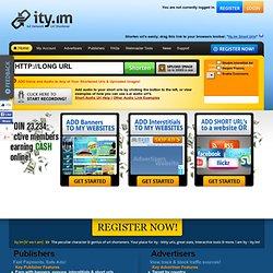 URL shortener & short urls at ity.im