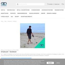 Urlaubszeit – Sondelzeit - Geo-Electronic GmbH