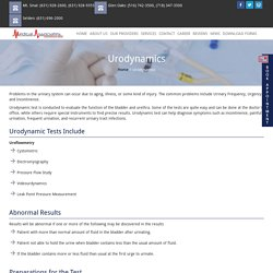 Urodynamic Testing – Best Kidney & Urologists in NYC