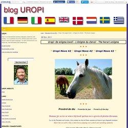 Uropi: De enigma kwali - L'énigme du cheval - The horse's enigma - uropi