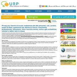 MIUR, URP - Privacy