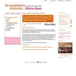 Entreprendre autrement : Coopératives d'activités et portage salarial en Rhône-Alpes