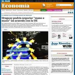 """Uruguay """"mano a mano"""" con UE"""