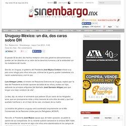 Uruguay-México: un día, dos caras sobre DH