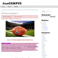 [US of A] Alors le Superbowl ??? - #nmCAMPUS