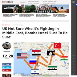US Bombs Israel 'Just To Be Sure'