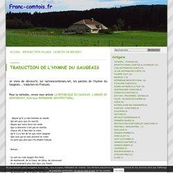 us et coutumes - Franc-comtois.fr