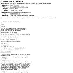 PIPELINE SEC - 03OTTAWA334