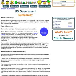 US Government for Kids: Democracy