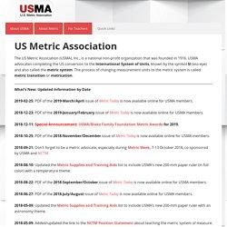 – US-Metric Association