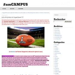 [US of A] Alors le Superbowl ??? - #nmCAMPUS