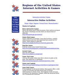 US Regions Activities