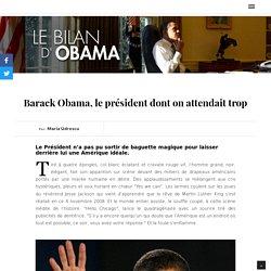 USA 2016 - Le bilan d'Obama
