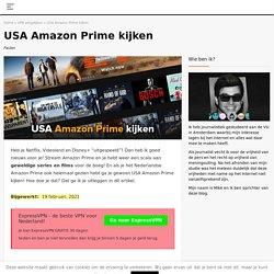 USA Amazon Prime kijken