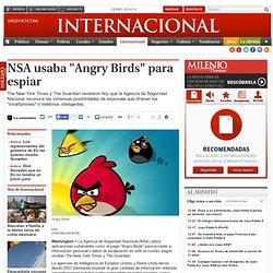 """NSA usaba """"Angry Birds"""" para espiar"""