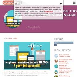 Migliora l'usabilità del tuo blog: 7 punti indispensabili