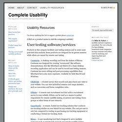 Usability and User Experience