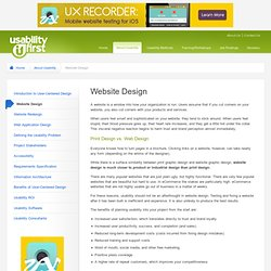 About Usability - Website Design