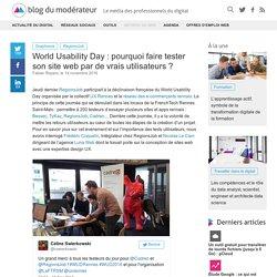 World Usability Day : pourquoi faire tester son site web par de vrais utilisateurs ?