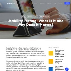 Usability Testing: What is It and Why Does It Matter?
