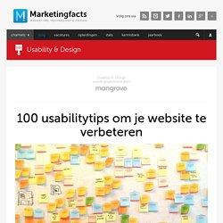100 usabilitytips om je website te verbeteren