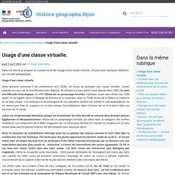 Usage d'une classe virtuelle.