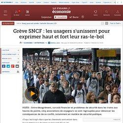Grève SNCF : les usagers s'unissent pour exprimer haut et fort leur ras-le-bol