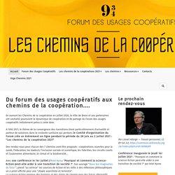 Forum des Usages Coopératifs : Accueil
