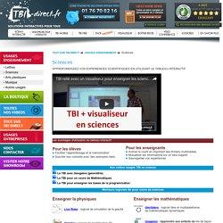 Usages du TBI en cours de science