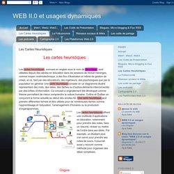 WEB II.0 et usages dynamiques: Les Cartes Heuristiques