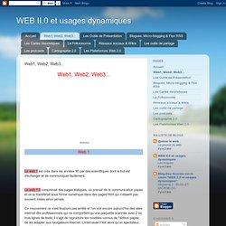 Web1, Web2, Web3...