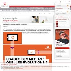 Usages des médias : quelles évolutions ?