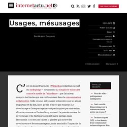 Usages, mésusages