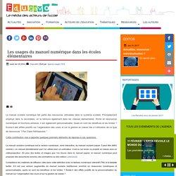 Les usages du manuel numérique dans les écoles élémentaires