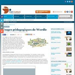 Usages pédagogiques de Wordle