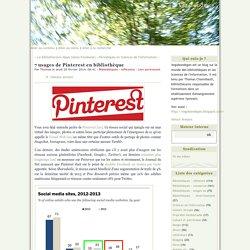 7 usages de Pinterest en bibliothèque