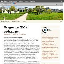 Usages des TIC et pédagogie
