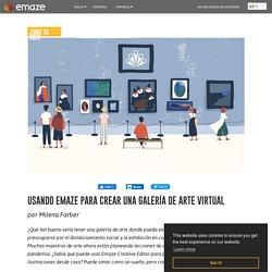 Usando Emaze para crear una galería de arte virtual - emaze