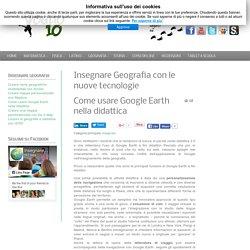Come usare Google Earth nella didattica