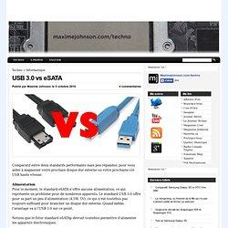 USB 3.0 vs eSATA