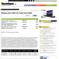 USB 3.0 : l'interface grande vitesse