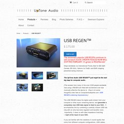 USB REGEN™ – UpTone Audio