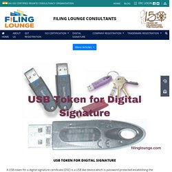 USB Token for Digital Signature