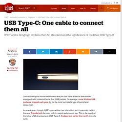 USB Type-C: One cable to connect them all - CNET